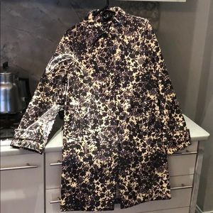 Vintage Marc Jacobs polyurethane rain coat